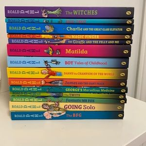 Ronald Dahl set of books